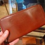 マットーネは財布にぴったりの素材かも