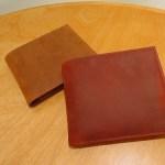 ナポレオンカーフの二つ折り財布 ボナパルトパースのレビュー
