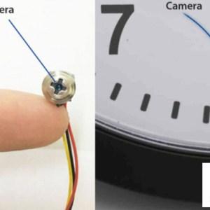 Camera ngụy trang ốc vít có thể gắn vào nhiều nơi
