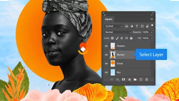 Photoshop sắp xếp Layout thông minh