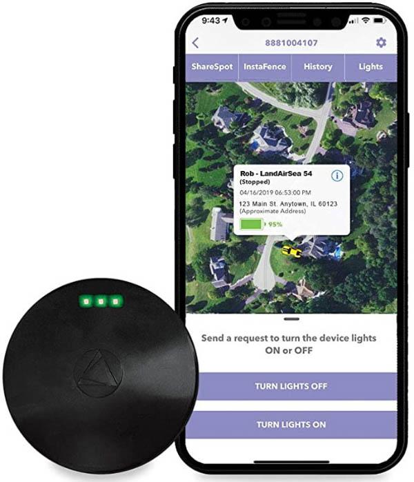 Thiết bị định vị siêu nhỏ mini GPS LandAirSea