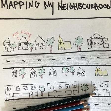 an illustration of a mapped neighbourhood