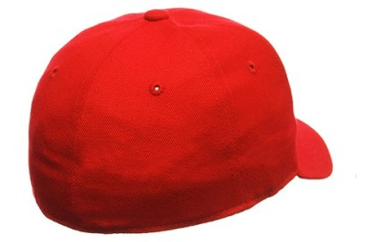 Back of Curved bill hat (color not accurate)