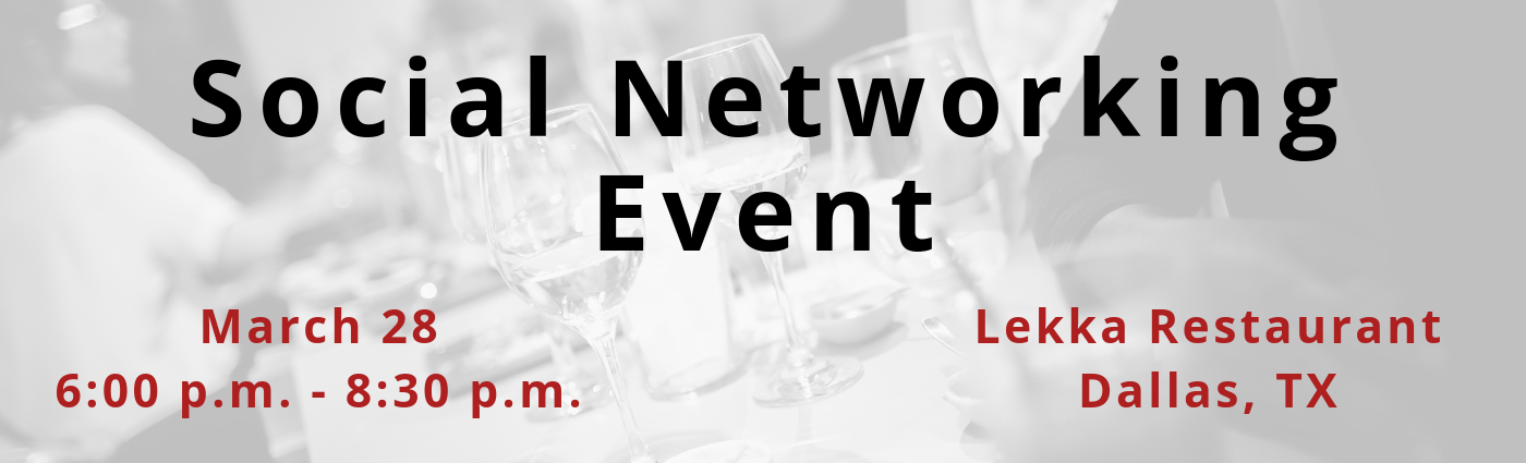 Social Networking Event – Dallas
