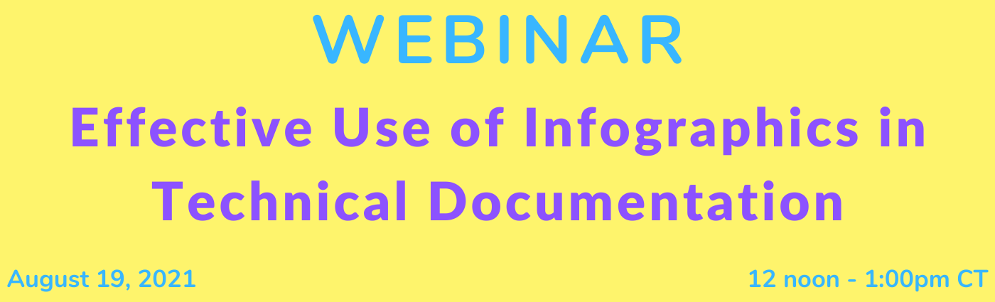 WEBINAR: Effective Use of Infographics in Technical Documentation