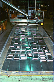 Bar Code Tracked  Manufacturing Process