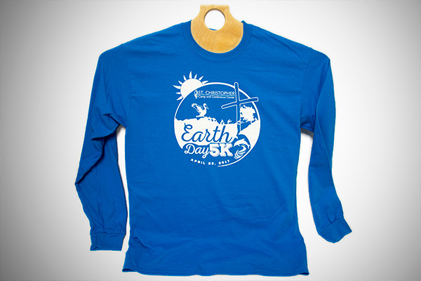 Earth Day 5K Tshirt