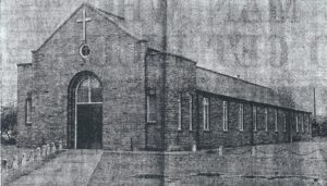 Original St Christopher's building, 1949.