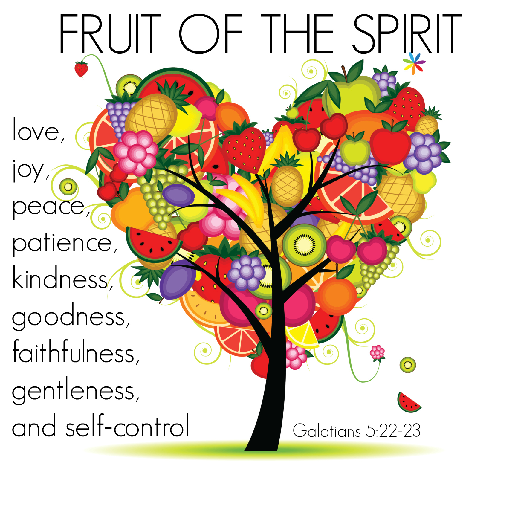 Grow Your Fruit Bibleverse 16th January