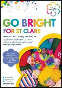 Go Bright Poster
