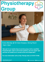 Physiotherapy Group leaflet front cover