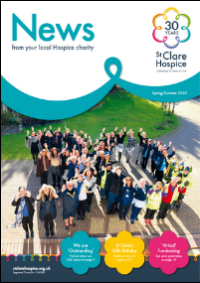 The front cover of the Spring/Summer 2020 Newsletter