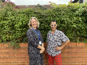 Our Compassionate Neighbours team (L-R: Amy and Joy).