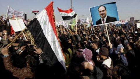 Soennieten Irak protesteren tegen sjiitische regering