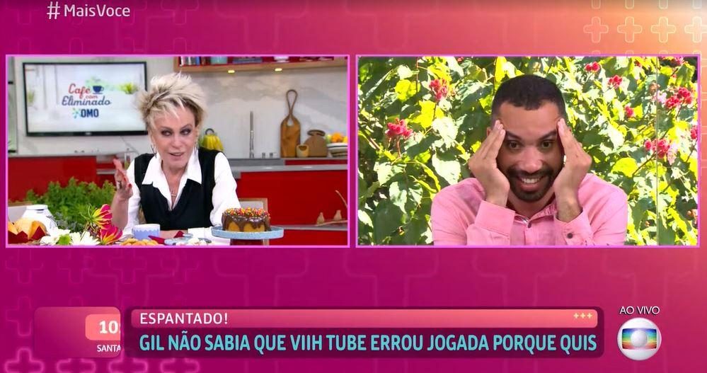 """Ana Maria Braga provoca discórdia ao vivo, deixa Gil paralisado com  podridão e entrega falsidade: """"De propósito"""" – TV Foco"""