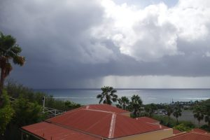 Squall over Turner Bay