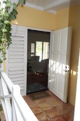Our doors are open wide -- and now feature screened doors in every room!