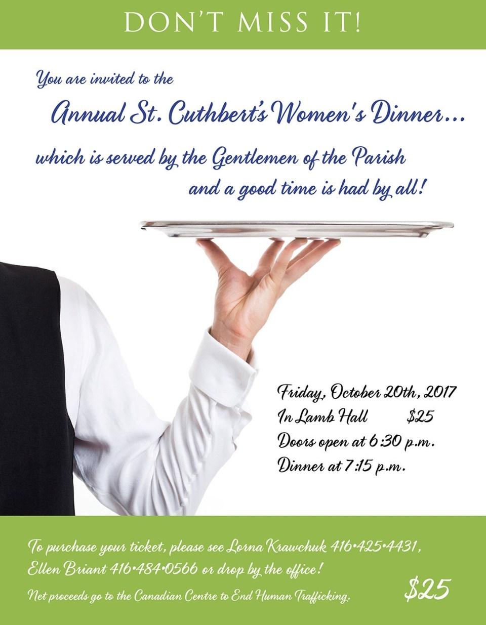 womens dinner 2017