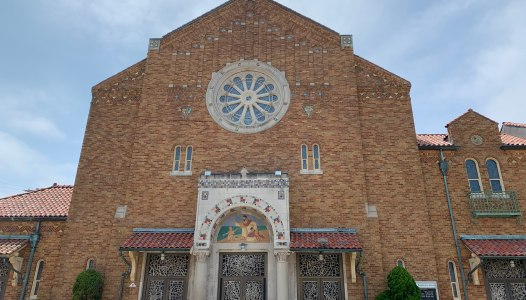 History of St. Augustine Church's Stained Glass Windows
