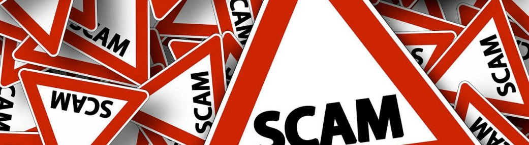 A Note About Ongoing Scams