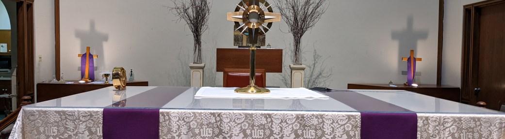 Christ at Mass Reflection (May 31, 2020)