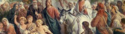 Christ at Mass Palm Sunday Reflection (2020)