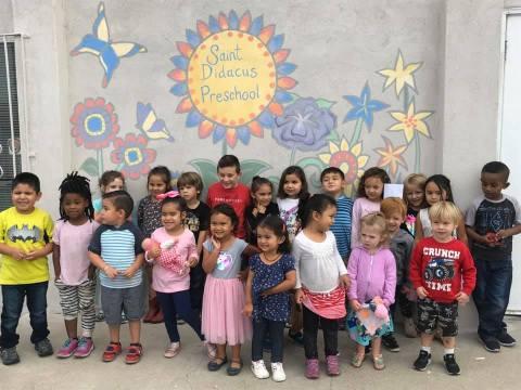 2019 St. Didacus Preschool in San Diego
