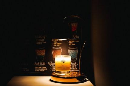 香氛蠟蠋暖燈