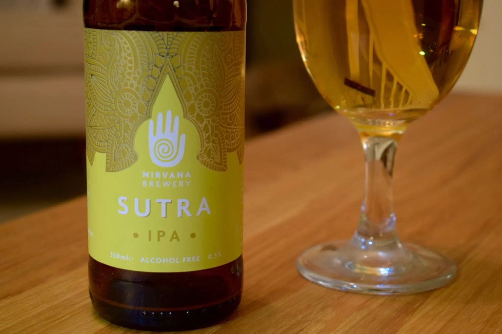 Nirvana Sutra IPA label close up
