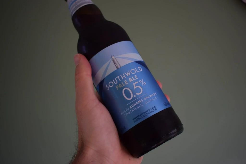 M&S Southwold bottle alcohol-free pale ale