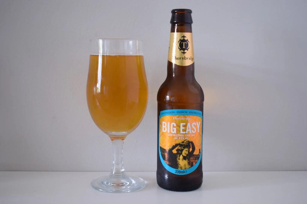 Thornbridge Big Easy bottle and glass
