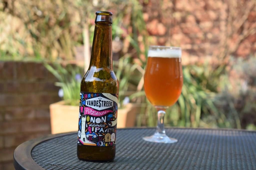 Vandestreek Playground IPA non-alcoholic beer