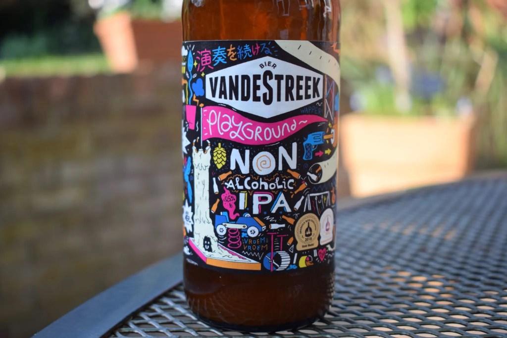Vandestreek Playground IPA label