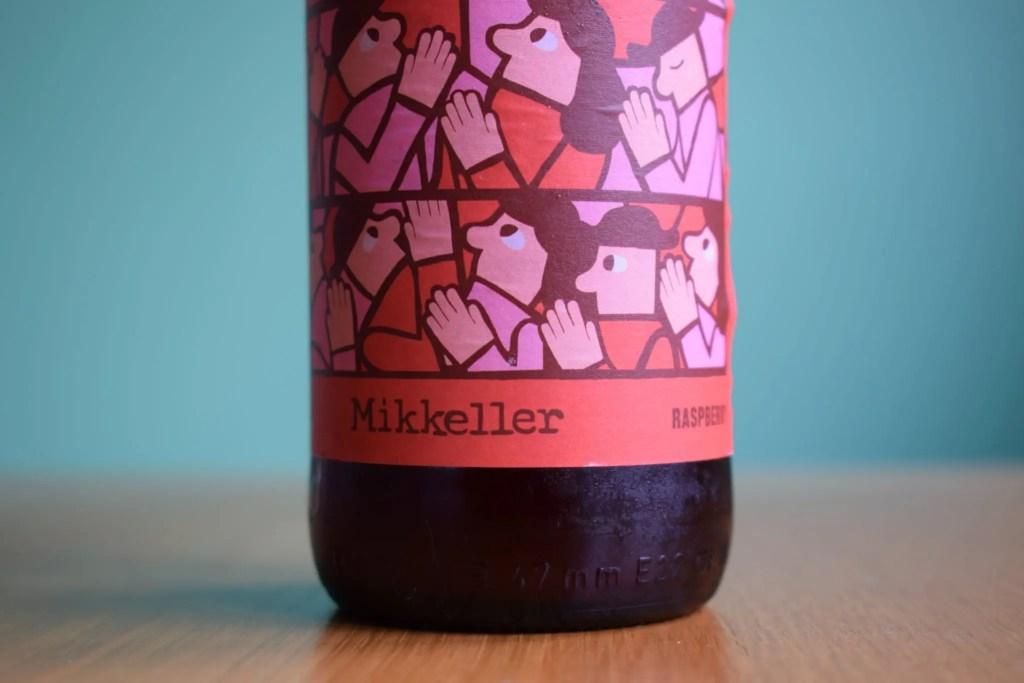 Mikkeller Raspberry Limbo non-alcoholic sour beer label