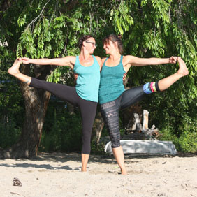 Mobile yoga teachers in Penticton and the Okanagan Valley.