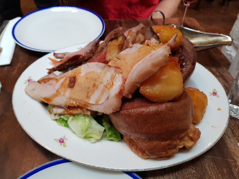 "An image of the ""all in"" roast at Blacklock"