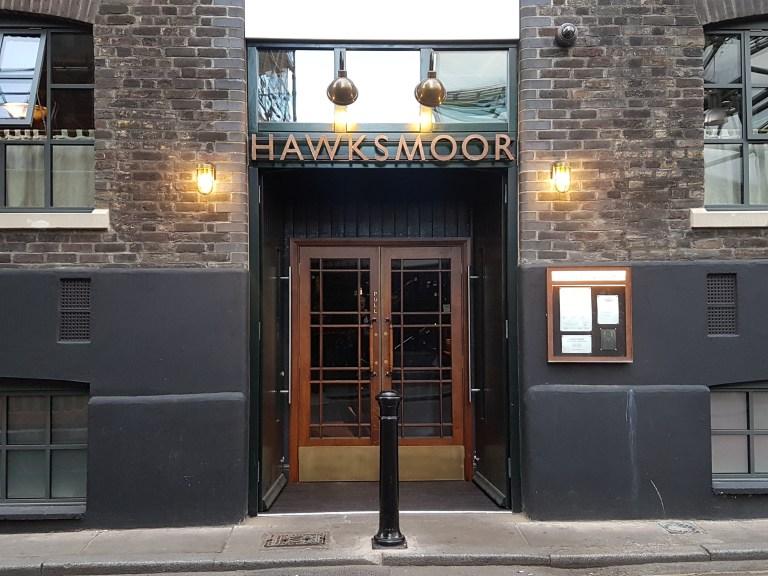 The entrance to Hawksmoor Borough