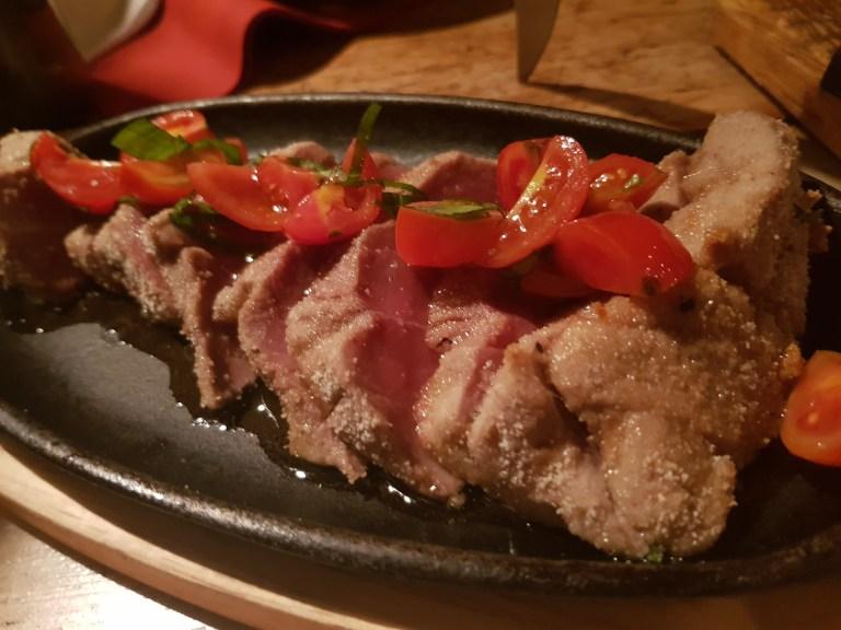 An image of tuna steak