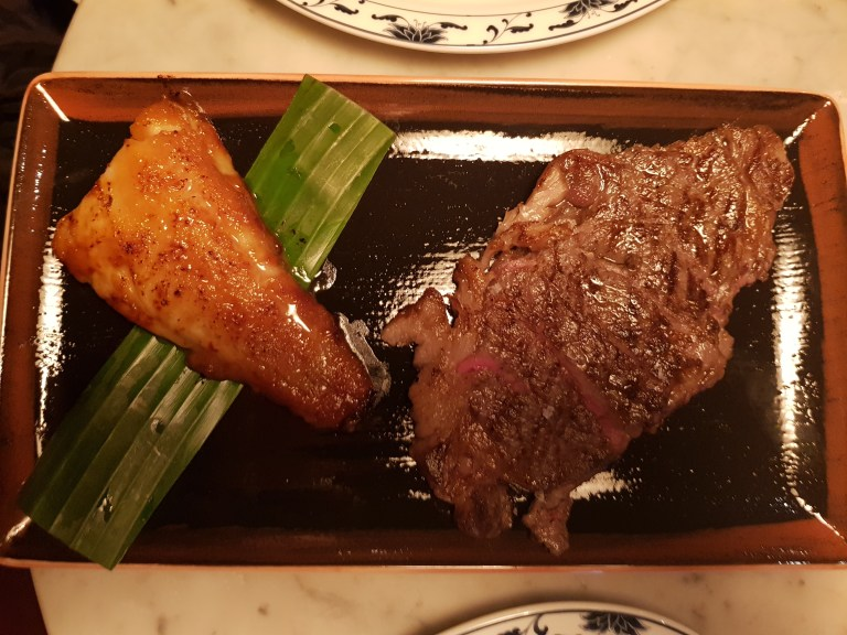 An image of Black Cod and Wagyu