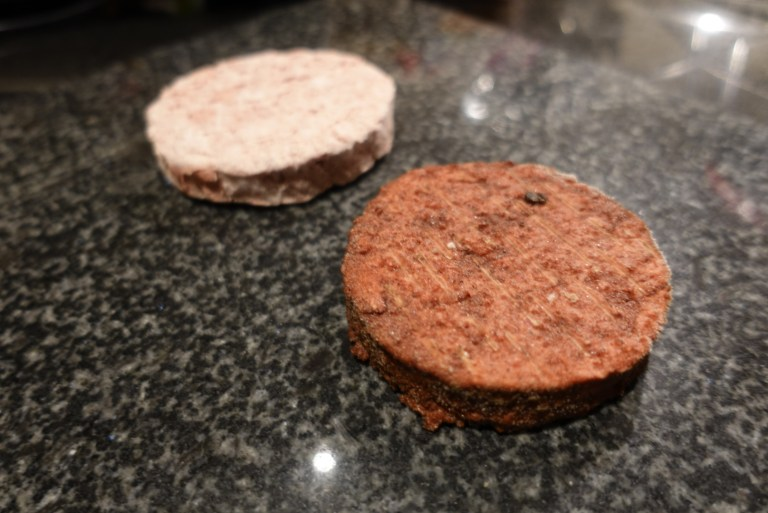 An image of burger patties