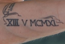 Angelina Jolie Tattoo Xiii V Mcmxl