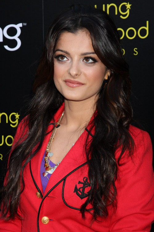 Bebe Rexha Wavy Dark Brown Loose Waves Hairstyle Steal