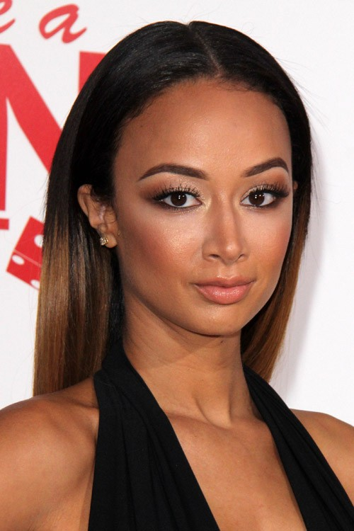 Draya Michele Straight Black Ombr Hairstyle Steal Her Style