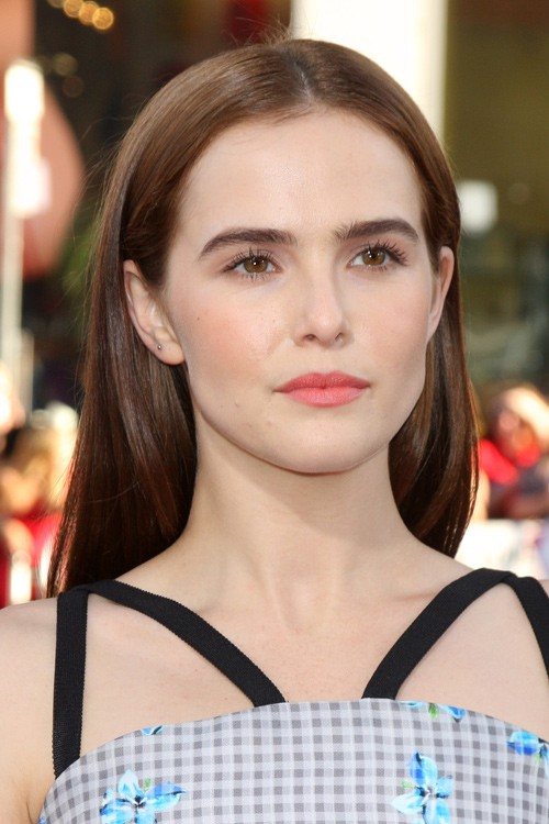 Zoey Deutch Straight Medium Brown Hairstyle Steal Her Style