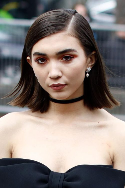 Rowan Blanchards Hairstyles Amp Hair Colors Steal Her Style