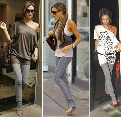 It seems Victoria Beckham has found her favorite jeans for fall.