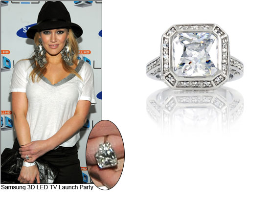 Downsized Dazzlers Celebrity Style Engagement Rings That