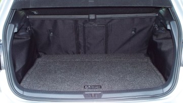 "Placing my VW ""Car Go"" mat on top of the Canvasback provides maximum protection against spills and heavy cargo..."