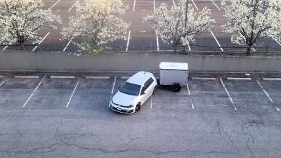 Meanwhile, a competent parker....