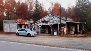 Abandoned fuel station.